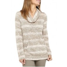 Ruby Rd Women Icing On The Cake Cowl Neck Metallic Stripe Pullover Slim material makes you more perfect Blshmul YNEDKNW