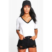 BOOHOO Extreme Rip Denim Hotpants Favorite welcome black DZZ73988