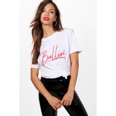 Ballin Slogan Oversized T-Shirt Comfortable elegant and beautiful Please select DZZ35516