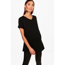 Maternity Side Split Longline Tee Comfortable elegant and beautiful Please select BZZ48740