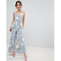 Women New Look Floral Jumpsuit More stylish and elegant Floral design 1290567 AYDWQRZ