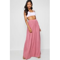 Floor Sweeping Jersey Maxi Skirt Comfortable elegant and beautiful Please select DZZ52301