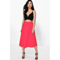 Plain Full Circle Midi Skirt Comfortable elegant and beautiful Please select AZZ34748
