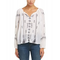 Women Christophe Sauvat San Rafael Top Approximately 23in from shoulder to hem White 479105501 BFZXLWB