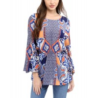 Women Glam Blouse Approximately 23in from shoulder to hem NoColor 498409201 UVSZSNA