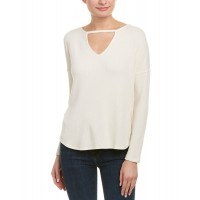 Women Tart Collections Trinity Sweater Approximately 26in from shoulder to hem White 511594801 MSUEVXN